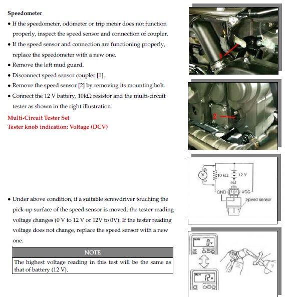 Инструкция к спидометру stels mach 3